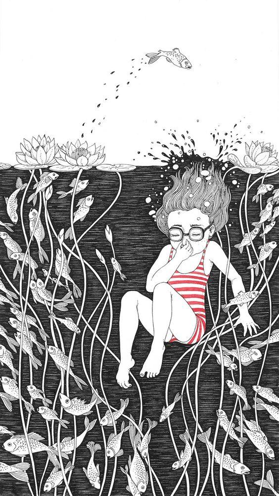 Une sélection desjolies illustrations de Sveta Dorosheva, une illustratrice ukrainienne qui rend hommage à son enfance avec des créations douces etpoéti