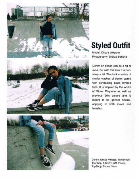 Portfolio Examples Ryerson School Of Fashion