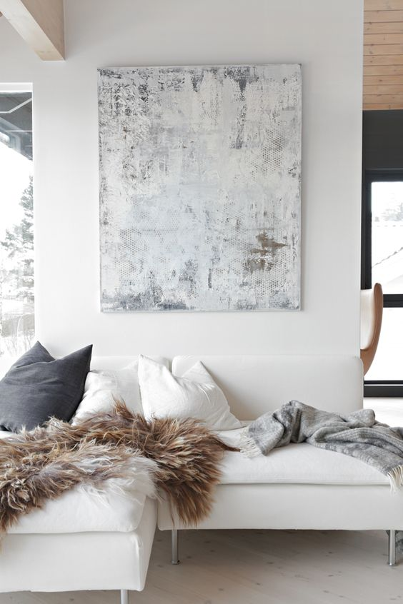 minimalist living // cozy: