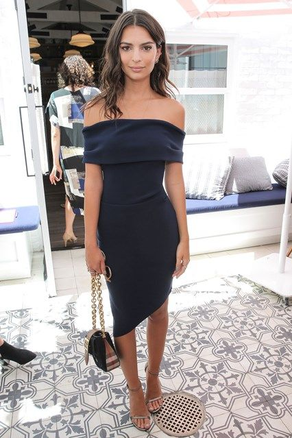 Off the shoulder dresses and tops are huge this season - find out how the stars work it on GLAMOUR.com