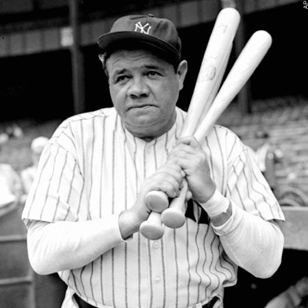 All ballplayers should quit when it starts to feel as if all the baselines run uphill. Babe Ruth