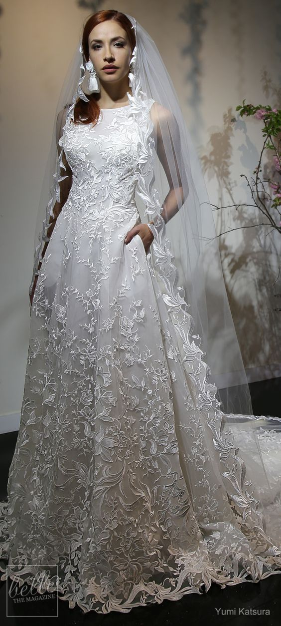 this wedding dress is really breathtaking