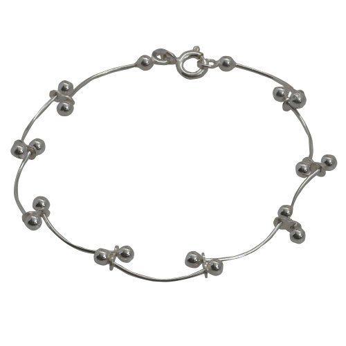 Bollywood Stil Modisches Schmuck Armband aus Sterling Silber 17,78 cm von ShalinIndia, http://www.amazon.de/gp/product/B0095FQYLA/ref=cm_sw_r_pi_alp_ZnDWqb1SN0J1A