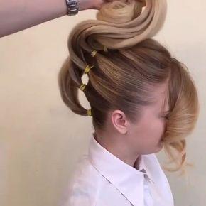 Best 12 Separó su cabello en 5 secciones para crear algo realmente hermoso – SkillOfKing.Com