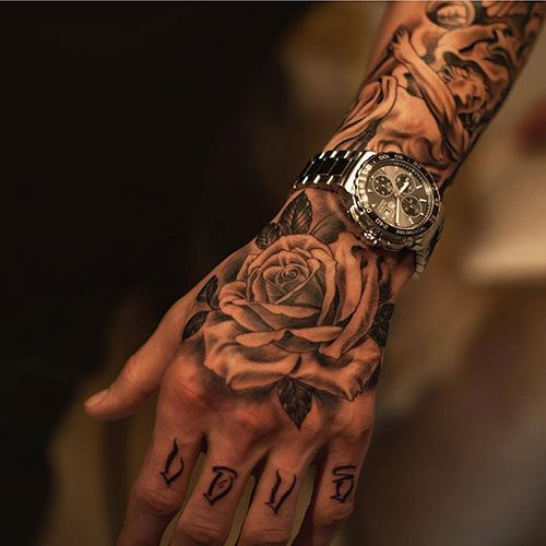 Hand Tattoo Ideas For Men Hand Tattoo Ideas For Men Hand Tattoo Ideas For Men Best Tattoo Ideas For Men In 2020 Hand Tattoos For Guys Tattoos For Guys Hand Tattoos
