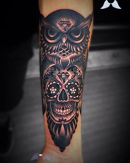 10 Best Mechanical Owl Tattoo Designs Petpress Br I 2020 Tatueringsideer Tatueringsdesigner Doskallar