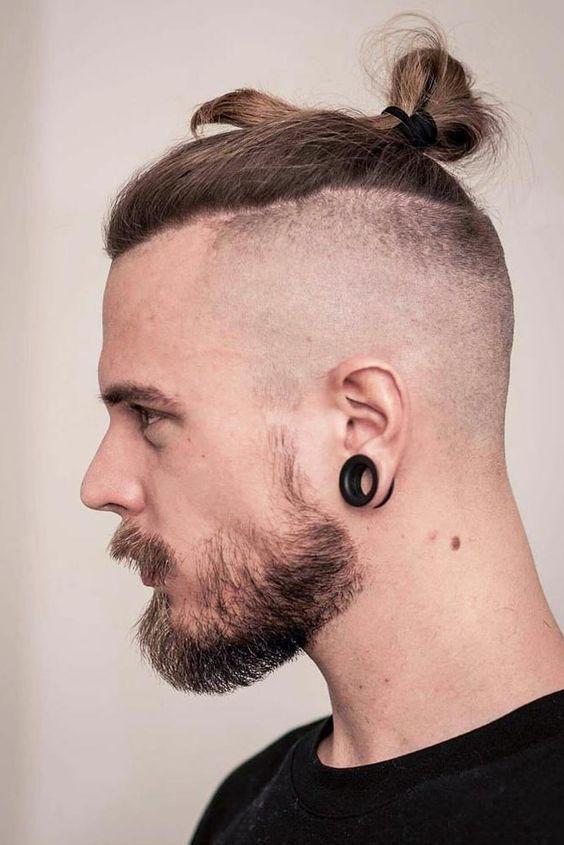 23 Best Bald Fade Haircuts In 2021 Undercut Long Hair Fade Haircut Long Hair Styles Men