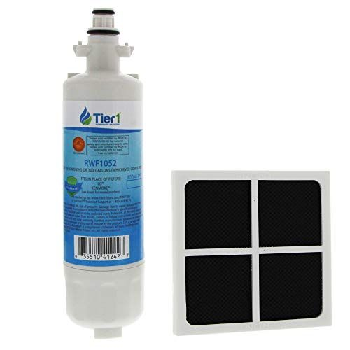 Tier1 Replacement For Lg Lt700p Adq36006101 Adq36006102 Kenmore 46 9690 And Lt120f Water And Air Filter Combo Tier1 Replacement Lt700p Adq36006101 Adq