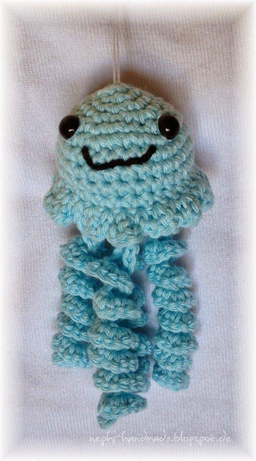 Nephi-handmade: kleine Qualle / Jellyfish