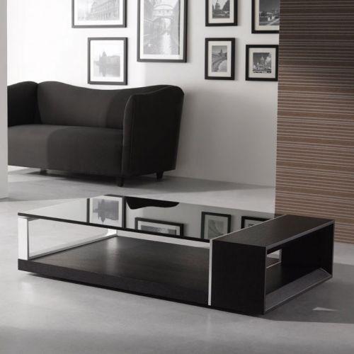 J And M Furniture 175153 Modern Coffee Table 883 Wenge Finish Tinted Glass Meja Sofa Meja Modern coffee table by j and m furniture