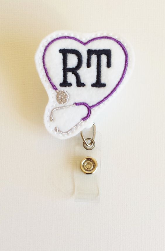 Respiratory Therapist Felt Badge Reel  by SimplyReelDesigns