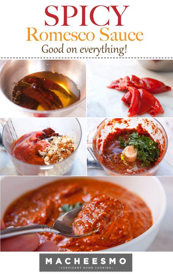 Spicy Romesco Sauce | Recipe | Spicy, Sauces and Spanish