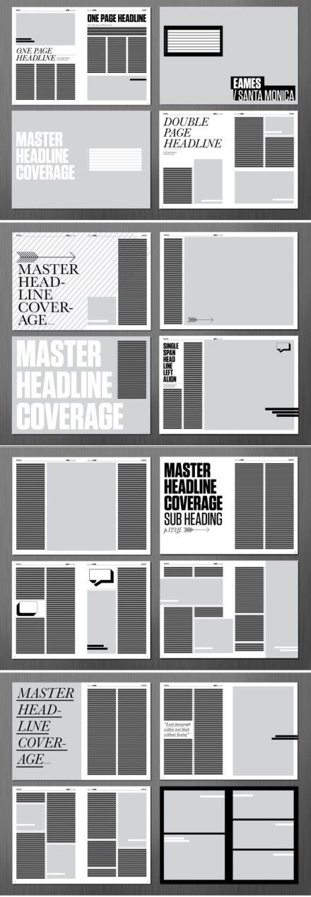 Magazine layout                                                                                                                                                      More
