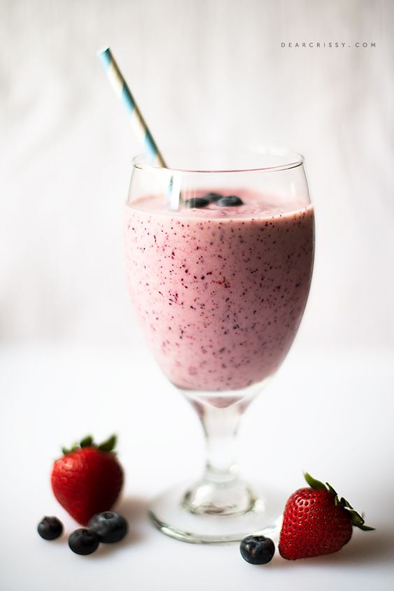 Fruity Breakfast Smoothie | Recipe | Strawberry smoothies ...