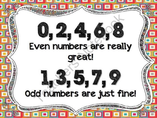 Number Names Worksheets odd and even year 2 : Pinterest • The world's catalog of ideas