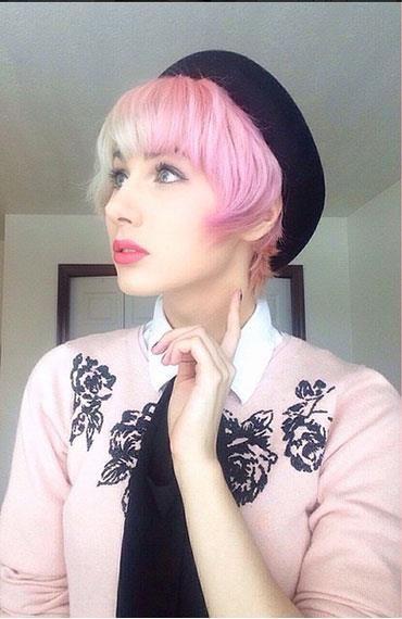 Split hair dye - the best looks from Instagram #hairtrend  #splitdye #splitcolour