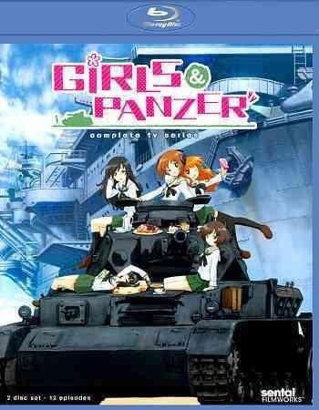 Girls Und Panzer: Complete TV Collection