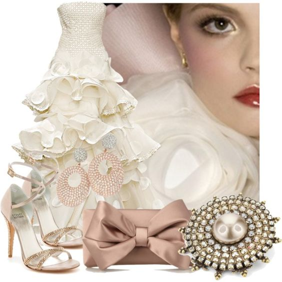 """Champagne Diamonds"" by jacque-reid on Polyvore"