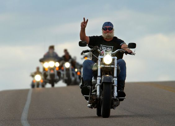 motorcycle riders pictures | How to be seen on motorcycles