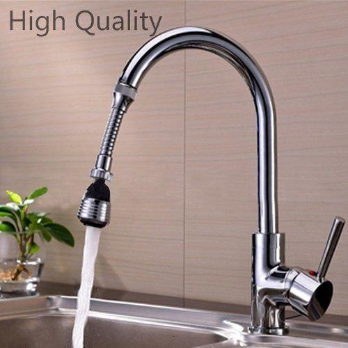 Fashion Nice Water Saving Tap Aerator 360 Rotate Faucet Swivel