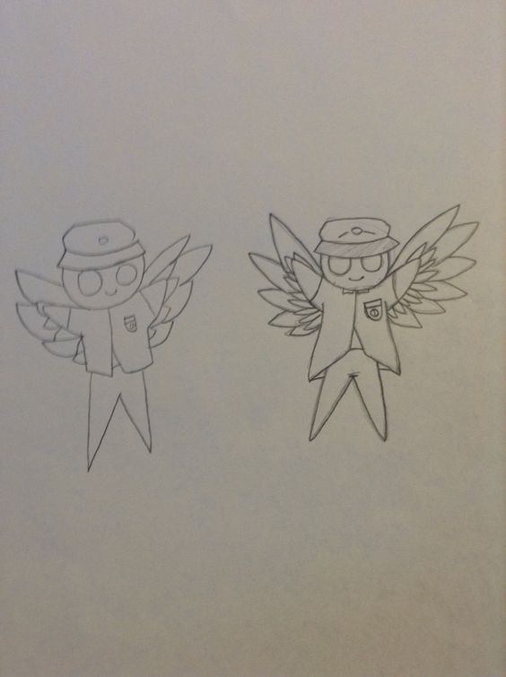 My friend Vinny tried drawing, so I just 'copied' him to make it look better. c: