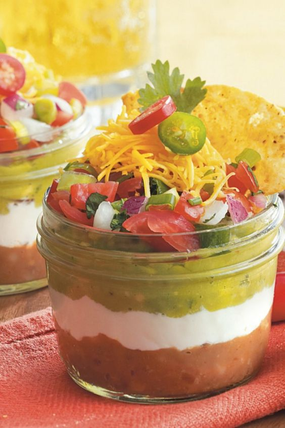 how to make taco dip with sour cream