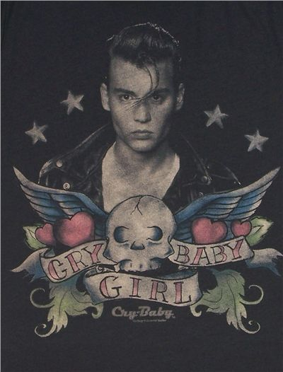 tshirt #closeup cry baby 1990, candy, roses and bublegum