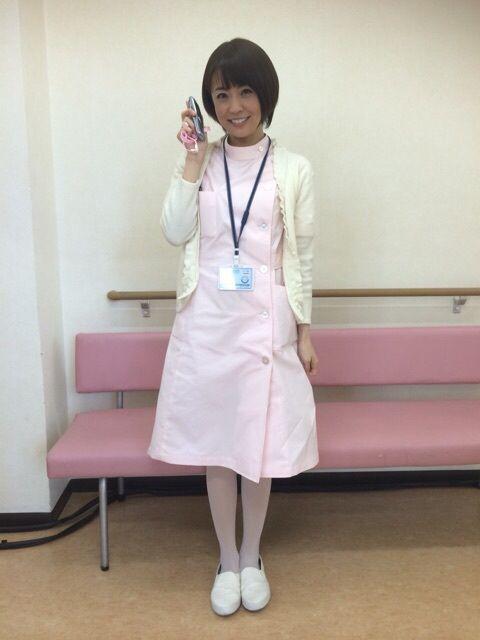 小林麻耶かわいいナース姿