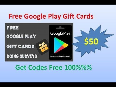 How To Get Free Google Play Codes 2020 2021 Free Codes Google Play Gift Card Google Play Codes Gift Card Generator