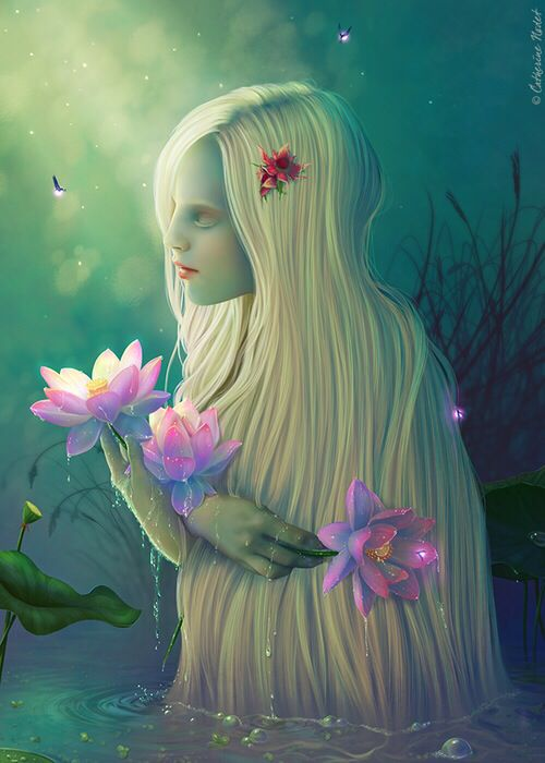 Asian Fantasy Art - Fantasy &amp- Abstract Background Wallpapers on ...