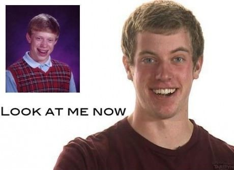 Bad Luck Brian now...lol
