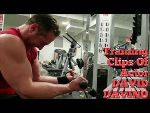 Training Clips Of Actor David Davino Youtube Train Fitness Training Actors