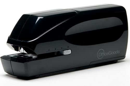 Electric And Battery Operated Stapler Liberty Pro 25 By Officegoods Jam Free Heavy Duty Portable With A 25 Sheet Capacity Electricity Stapler Power Cable