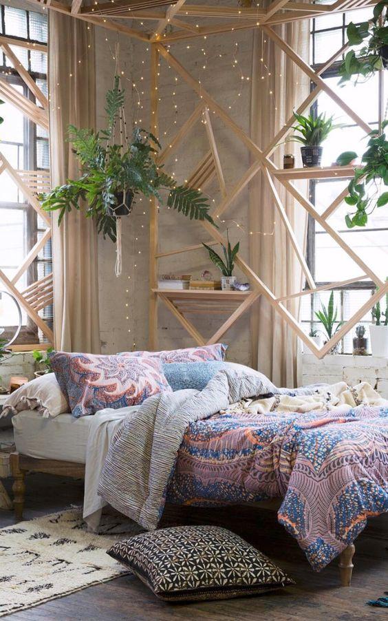 Boho bedroom:
