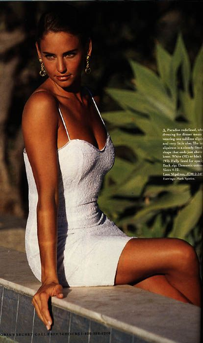 Model: Jill Goodacre