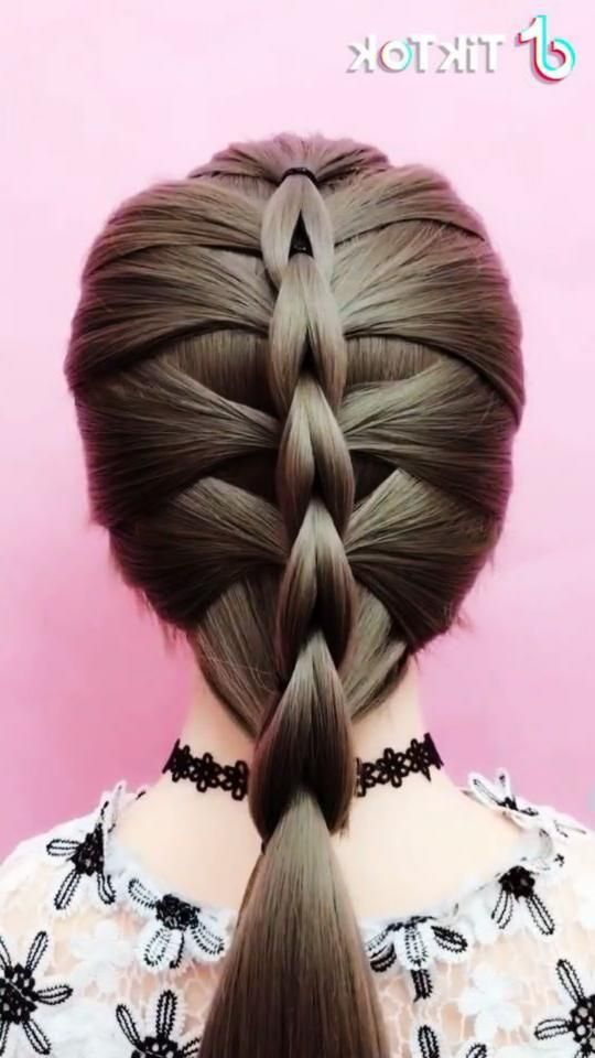 Super Easy To Try A New Hairstyle Download Tiktok Today To Find More Amazing Videos Also You Can Post Video Unique Hairstyles Hair Styles Long Hair Styles