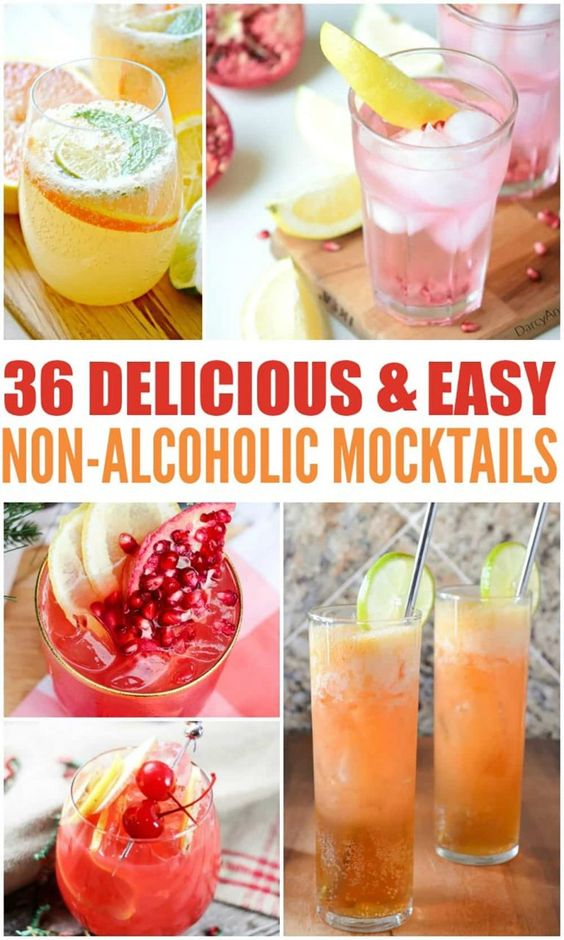 36 Delicious and Easy Mocktails - Hello Nature
