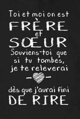 Citation Frere Et Soeur : citation, frere, soeur, Frere, Soeur, Citation, Soeur,, Frere,, Soeurs
