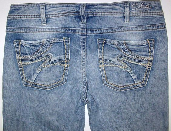 Silver Jeans Aiko Boot Cut Womens Size 32 Tagged 32/31 Buckle ...
