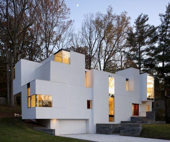 Haus mit asymmetrischer Konstruktion Patkau Architects