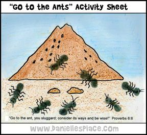 Ants: A Study from Proverbs for Kids on Diligence • BibleBaton