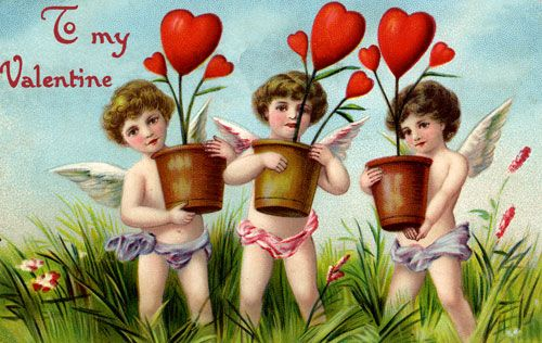 old fashioned valentine