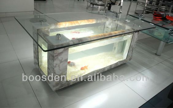 Table basse aquarium diy - Aquarium coffee table diy ...