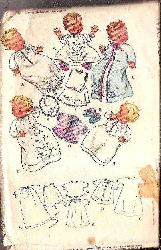 Vintage Baby Sewing 5