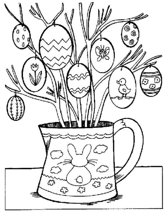 christian spring coloring pages - photo#24