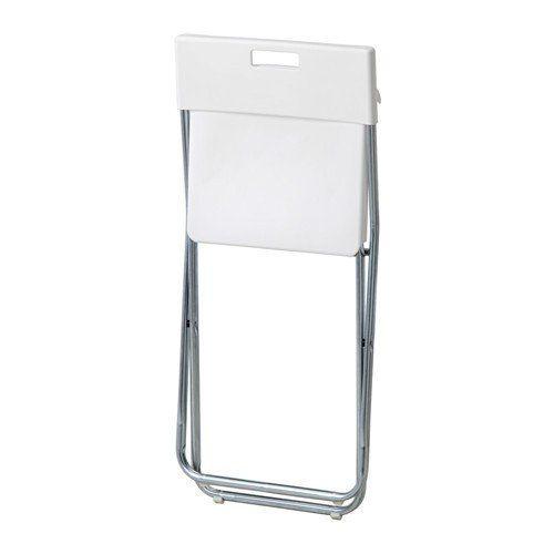 Ikea Gunde Folding Chair White Folding Chair Chair Ikea
