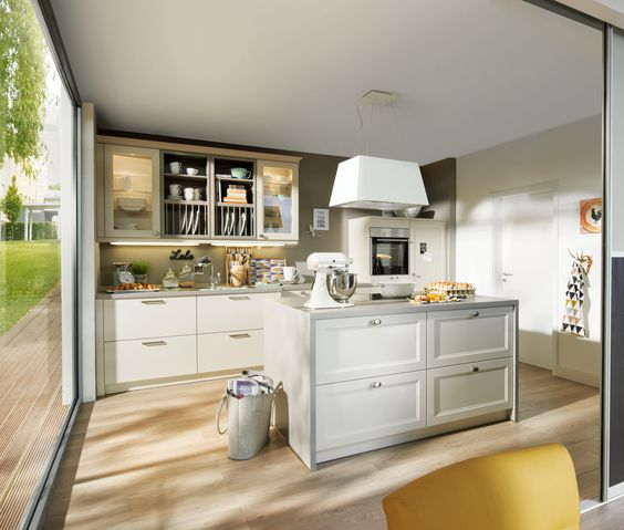 k che mit kochinsel furnishing pinterest k che mit kochinsel. Black Bedroom Furniture Sets. Home Design Ideas
