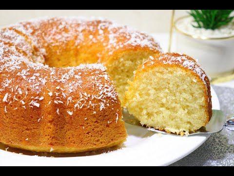 كيكة الزبادي وجوزالهند كيكة اسفنجية وهشة سهلة وسريعة والطعم ولا اروع Youtube Baking Desserts Cooking Recipes