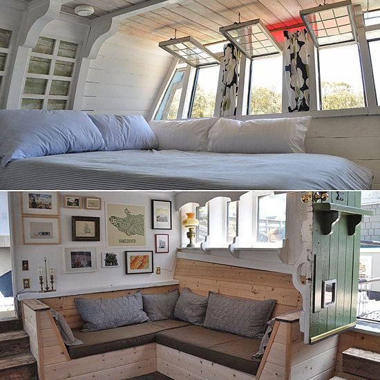 Bright and inviting in Sausalito, CA - House Boat Rentals. If I could I would steal a house boat for my man and I to live on. Just love the ocean. #TheBlingRing #PinToWin: House Boat Interior, Boathouse, Houseboats Interiors, Houseboat Interior, Living On Boat