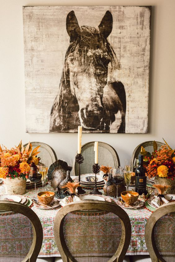 A Southern Thanksgiving | Our thanks to @Dawn Long On Martha for this gorg…: